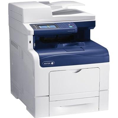 Xerox Corporation - Xerox Workcentre 6605Dn Laser Multifunction Printer - Color - Plain Paper Print - Desktop - Copier/Fax/Printer/Scanner - 36 Ppm Mono/36 Ppm Color Print - 35 Ipm Mono/35 Ipm Color Print (Iso) - 1200 X 1200 Dpi Print - 36 Cpm Mono/36 Cpm