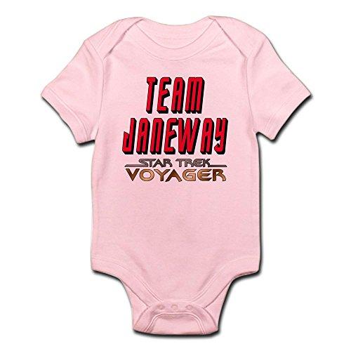 CafePress Team Janeway Star Trek Voyager Infant Bodysuit - Cute Infant Bodysuit Baby Romper