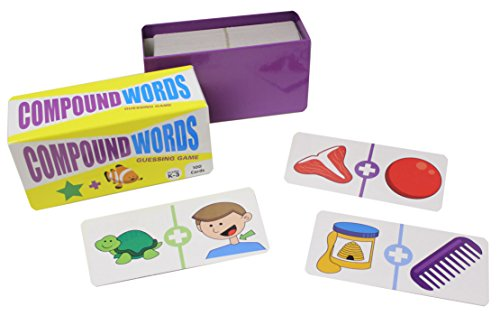 Compound Words Game (Compound Words Guessing Game Quiz Puzzle Game - Language Arts Teacher Supply - Language Arts Teacher Supply - Teacher Language Arts Supplies - Spelling Writing)