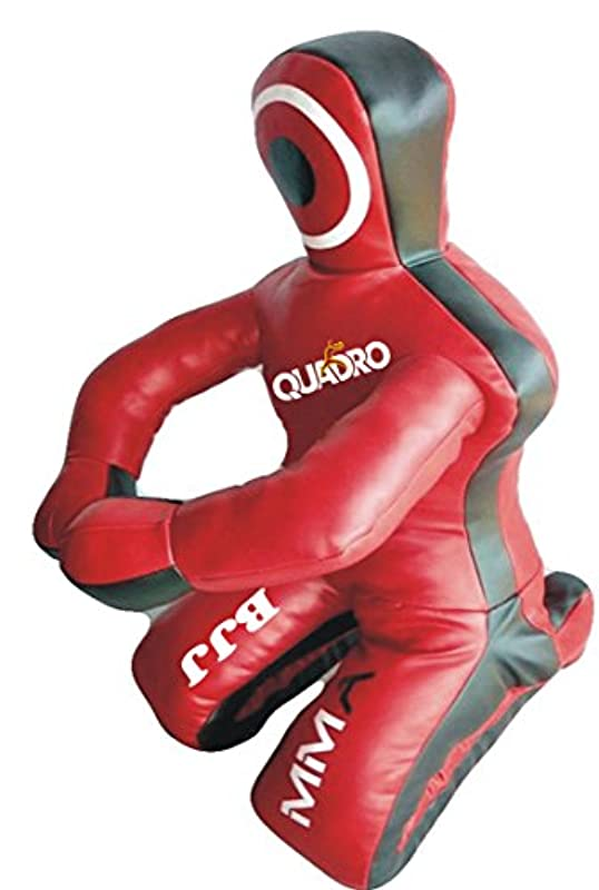 Quadro MMA Martial Arts Grappling더미 레드Jiu Jitsu Punching Bag&?쀣꺁?녈궧??깋;–&?쀣꺁?녈궧??깋;Unfilled