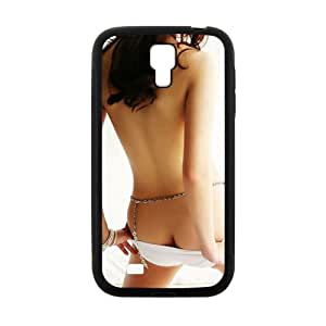 Sexy Girl Black Phone Case for Samsung S4