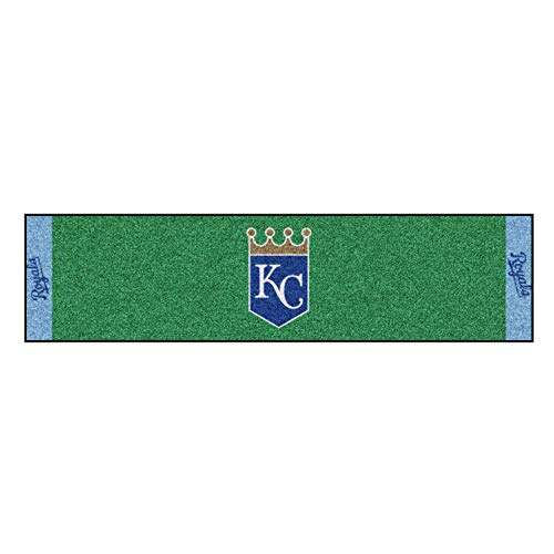 - FANMATS MLB Kansas City Royals Nylon Face Putting Green Mat