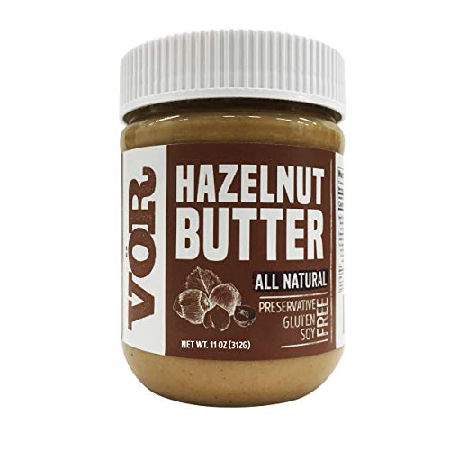 Vör Pure Hazelnut Butter 11oz Jar