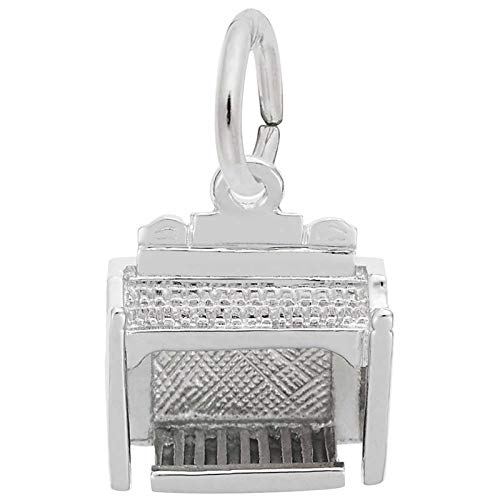 Rembrandt Charms Organ Charm, Sterling Silver
