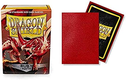 IVORY Matte Dragon Shield! New Sealed! 100 Standard Size Protector Sleeves!