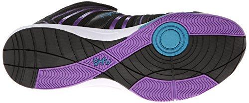Violett ryka zapatillas mujer City zapatos deporte fitness para orina De baile de de calzado de Schwarz wq5TZ84