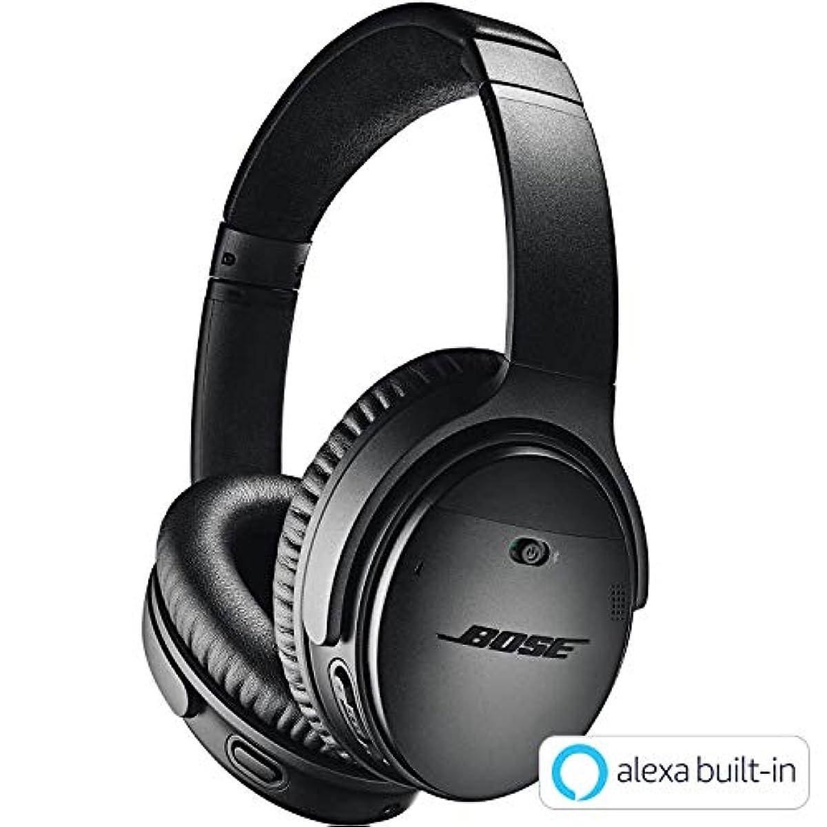 [해외] BOSE QUIETCOMFORT 35 WIRELESS HEADPHONES II wireless 노이즈캔슬링헤드폰 AMAZON ALEXA탑재 블랙