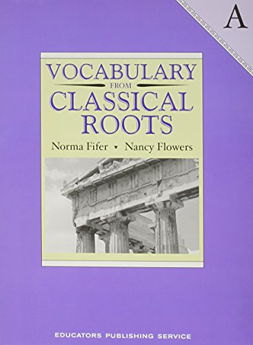 Vocabulary from Classical Roots - A