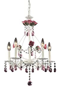 Mary-Kate and Ashley Rosavita 5-Lamp Chandelier