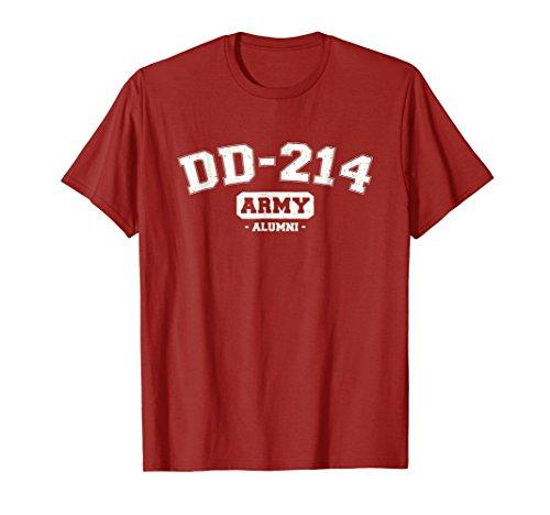DD-214 US Army Alumni Vintage T-Shirt - Wear Red Friday Tee