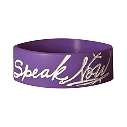 (Taylor Swift - Exclusive Speak Now Rubber Bracelet (Purple))