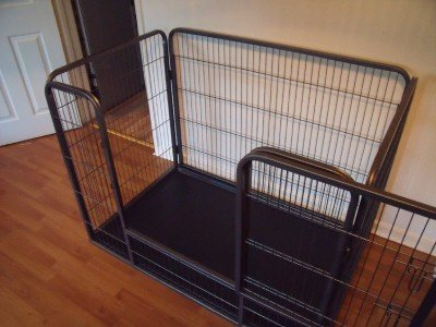 X-Large Doggy Style Heavy Duty Whelping with Abs Tray Puppy Play Pen