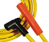 454 spark plug wires - ACCEL 4071 8mm Super Stock Graphite Custom Wire Set - Yellow