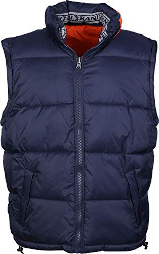 Karl Kani Bubble Chaqueta de Invierno Blue/Orange: Amazon.es ...