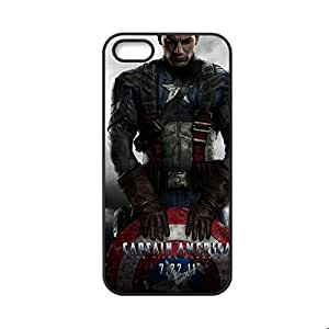 Generic Print With Captain America Personalised Phone Case For Boy For Iphone 5 Gen 5S Choose Design 5