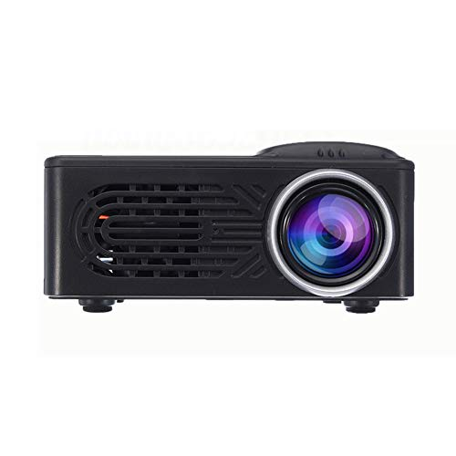 ZXGHS Video Projector, 7500 Lumens / 1080P HD/LED Portable Projector / 320X240 Resolution/Multimedia Home Theater Movie Projector