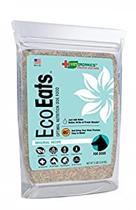 EcoEats Original Recipe Dehydrated Dog Food. All-Natural, Healthy, Easy-To-Make, Bring Your Own Protein. Grain-Free Nutritious Dog Food with No Fillers or Preservatives. (2 lb bag makes 16 lbs)