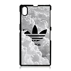 Adidas Logo Universal Smartphone Case for Sony Xperia Z1 Compact,Novel Stylish Adidas Brand Logo Series Delicate Moulded Case Cover