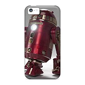 New Snap-on CaroleSignorile Skin Cases Covers Compatible With Iphone 5c- Red R2d2 wangjiang maoyi wangjiang maoyi by lolosakes