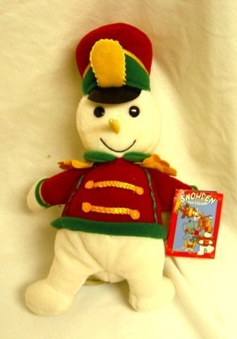- Snowden the Snowman in Marching Band Uniform 9 Plush by Commonwealth