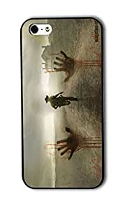 Tomhousomick Custom Design The Walking Dead Case for iPhone 5 5S Phone Case Cover #46