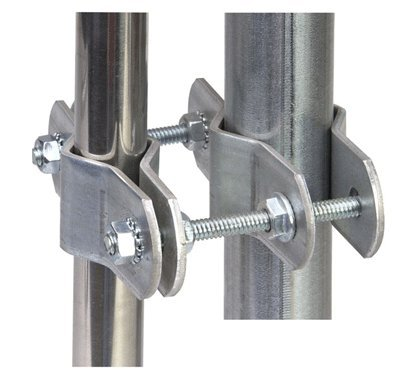 Ambient Weather EZ-PTP Mast to Mast Mounting Kit for Small Diameter - 1/2