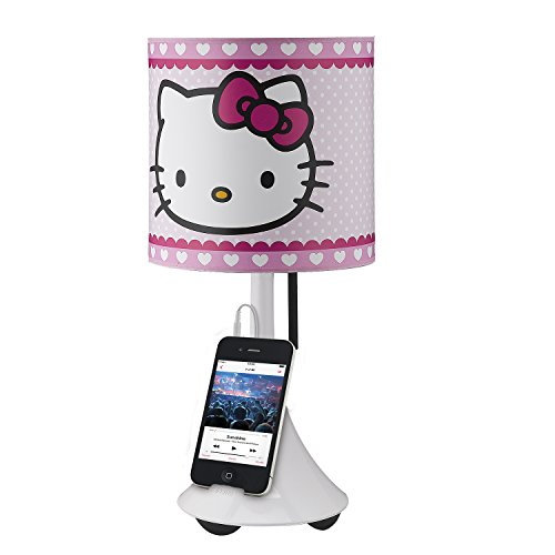 Hello Kitty Table Lamp with Built in Speaker -
