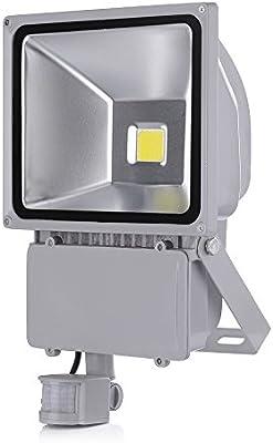 SAILUN 100W Bianco cálido Foco LED Floodlight Led Foco IP65 con ...