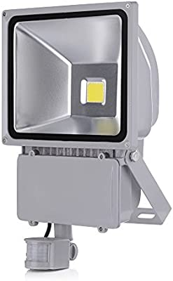 SAILUN 100W Bianco cálido Foco LED Floodlight Led Foco IP65 con ...