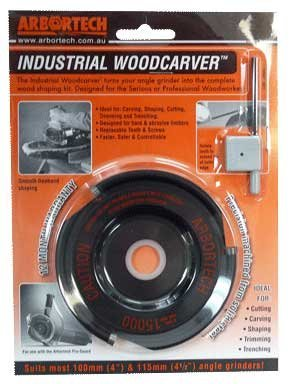 Arbortech Replacement Industrial Woodcarver PRO-KIT Carbide Cutter Head