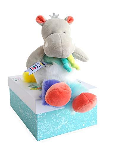 Doudou et Compagnie Doudou Hippo 30 cm: Amazon.es: Bebé