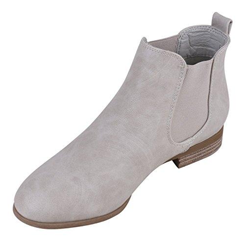 Japado - Botas Chelsea Mujer Gris - gris claro (grey 801)