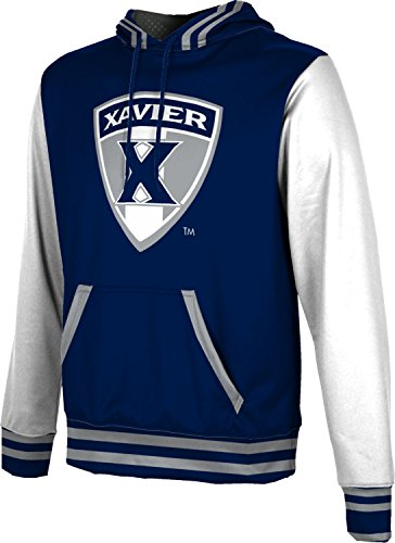 ProSphere Xavier University Men's Hoodie Sweatshirt - Letterman FABA2 - Xavier Fleece Fabric University