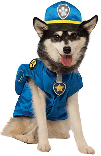 Police Dog Halloween Costume (Paw Patrol Chase Dog Costume)