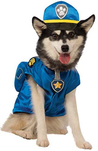Paw Patrol Chase Dog Costume - Halloween Paws Costume Dog