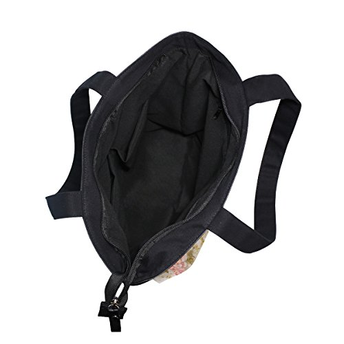 Canvas Bag Tote Womens MyDaily Handbag Shoulder Floral Beautiful Flowers UOWAnA7