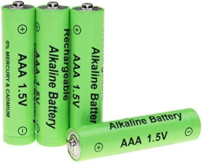 4pcs 1.5V AAA Alkaline Rechargeable Battery