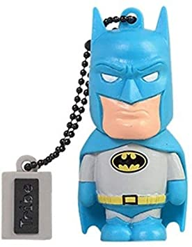 Tribe Warner Bros DC Comics Batman - Memoria USB 2.0 de 16 GB Pendrive Flash Drive de Goma con Llavero