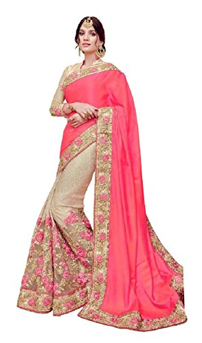 Aarah-Womens-Ethnic-Wedding-And-Party-Wear-Classic-Indian-Saree
