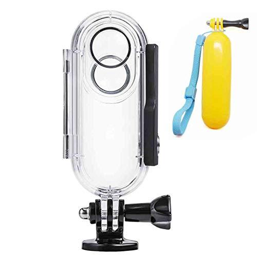 First2savvv Waterproof Case Insta 360 One Diving Protective Housing Waterproof Case 40m Insta360 One Action Camera Bracket insta360 one-FSK-Black+FL by first2savvv