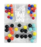 American Educational 104 Piece Basic Plastic Molecular Model Set