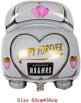Decoration Crown Inflatable Toys Wedding Supplies Helium Balloon Diamond Ring