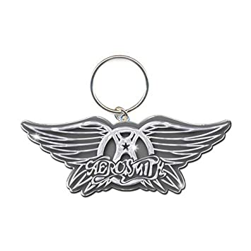Amazon.com: Rock Off – Aerosmith esmalte Llavero Wings ...