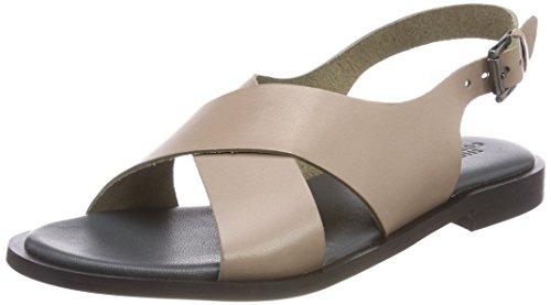 Hasta florido Shoe Cheville Bride Biz Sandales Beige Femme Taupe Classic 5xr5qZ60n