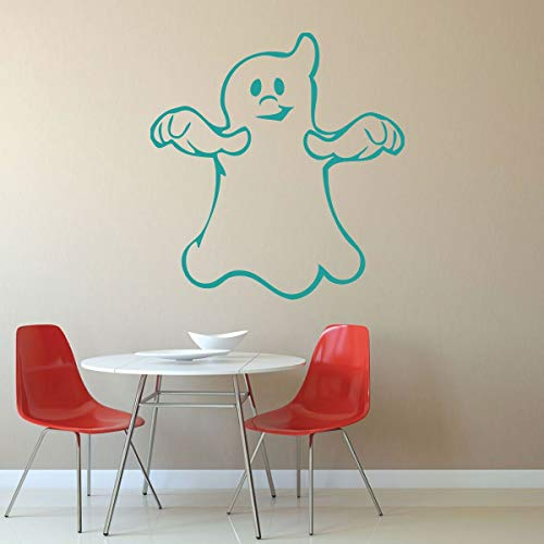 Dozili Halloween Decor - Cute Haunted Ghost - Halloween Party Decorations Vinyl Wall Art for The Home Library School Preschool 24