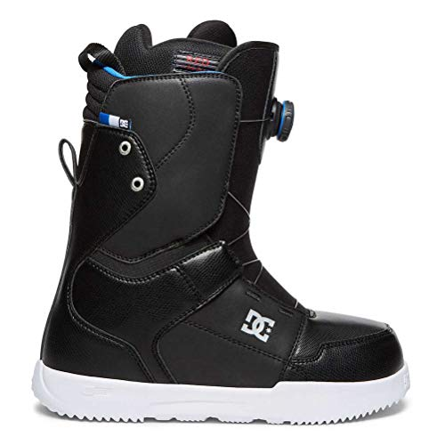 DC Men's Scout Boa Snowboard Boots, Black, ()