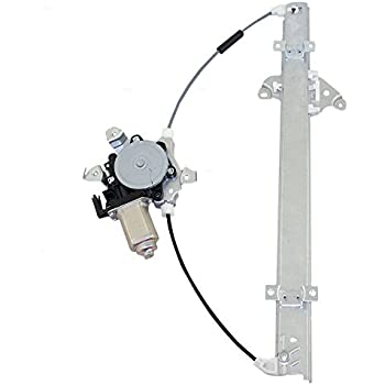 Drivers Front Power Window Lift Regulator with Motor Assembly Replacement for Nissan Suzuki Pickup Truck SUV 80731EA005