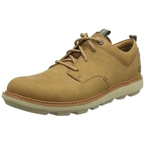 chollos oferta descuentos barato Cat Footwear Brusk Zapatos de Cordones Derby Hombre Beige Cashew Dark Brown 40 EU