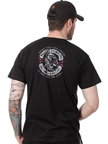 West Coast Choppers T-Shirt Hells Guardian Schwarz