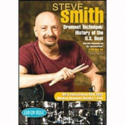 (Hal Leonard Steve Smith Drum Set Technique DVD (DVD))